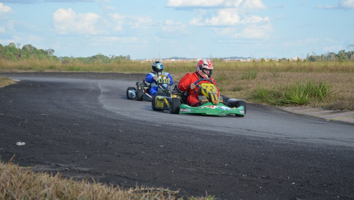 2ª etapa do Campeonato Municipal de Kart (Foto: Franciele do Vale)