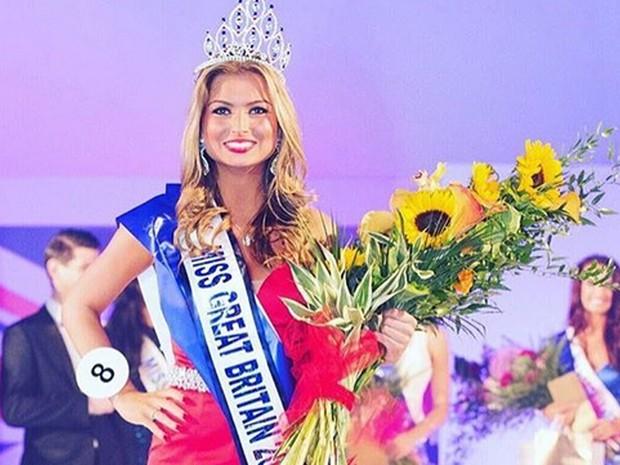 Miss Grã-Bretanha perde título após sexo em reality show (Foto:  Reprodução/Instagram/zaraholland)