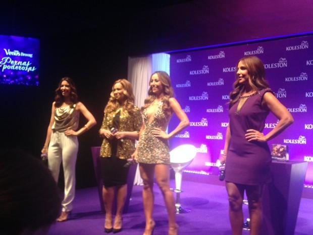 Camila Coutinho, Solange Almeida, Sabrina, Ivete Sangalo em evento (Foto: EGO)