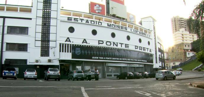 Estádio Moisés Lucarelli Ponte Preta Ponte Macaca (Foto: Carlos Velardi/ EPTV)