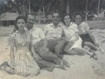 Família de Benedito ajudou o casal a ficar junto (Foto: Lorena Aquino/G1)