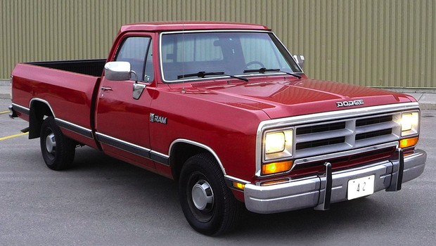 Dodge RAM em sua primeira geração (Foto: Chrysler)