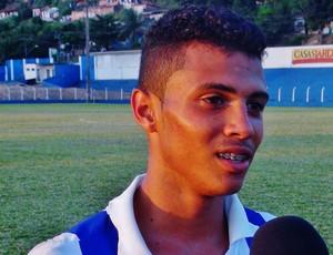Vitor Lins, artilheiro do CSA no Alagoano sub-17 (Foto: Henrique Pereira/ GloboEsporte.com)