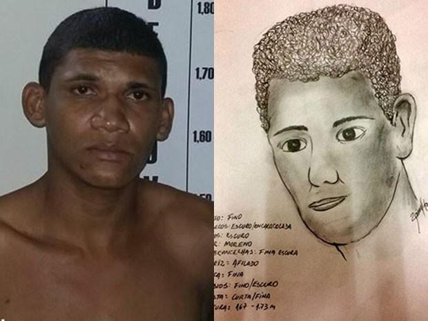 Alexsandro Faustino, de 22 anos, foi reconhecido pelas vítimas (Foto: Divulgação/Polícia Civil do RN)