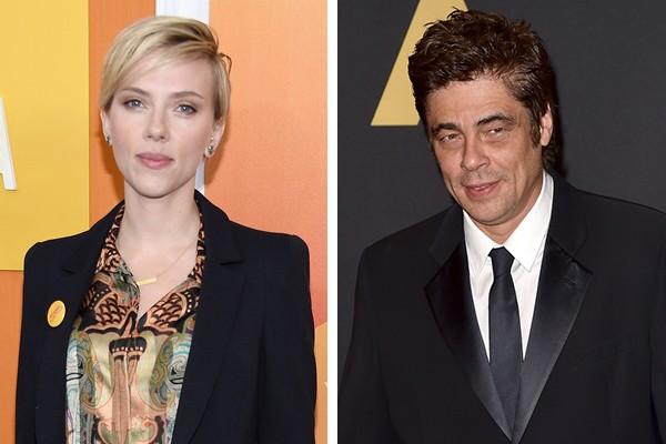 Scarlett Johansson e Benicio Del Toro (Foto: Getty Images)