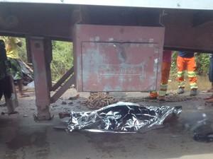 Uma pessoa ficou morta após acidente em BR (Foto: Divulgação)