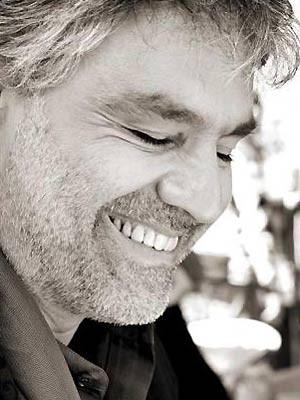 O tenor italiano Andrea Bocelli (Foto: Divulgação/MySpace do Artista)