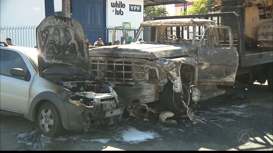 Suspeito de roubar moto morre após acidente seguido de incêndio em Campina Grande