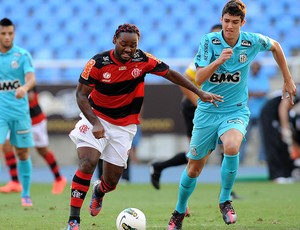 Vagner Love, Flamengo x Santos (Foto: Alexandre Vidal / Fla Imagem)