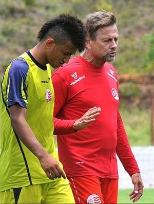 Rogério e Waldemar Lemos, Náutico (Foto: Antônio Carneiro)