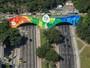 Rio começa a ganhar decoração colorida para celebrar Olimpíada