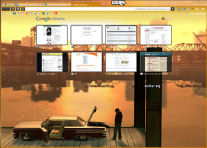 Interface GTA4 Google Chrome Theme