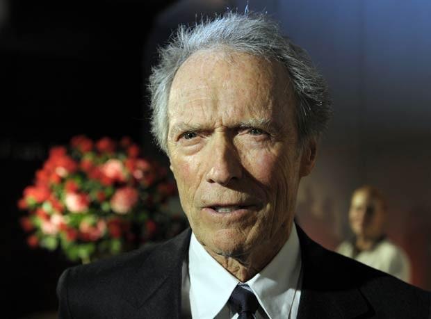 O ator Clint Eastwood em 1º de fevereiro de 2012 (Foto: AP)