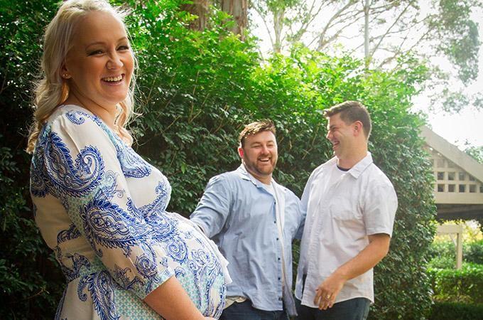 Ashlee, David e Brendan (Foto: Reprodução)