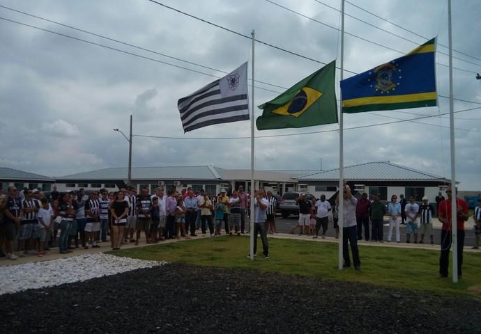 inauguração ct do americano, em campos (Foto: Stella Freitas )