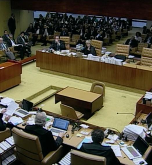 maioria dos ministros (reprodução/TV Globo)