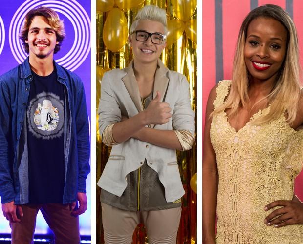 Brenno Leone, MC Gui e Roberta Rodrigues também são convidados do Web Show (Foto: Gshow)