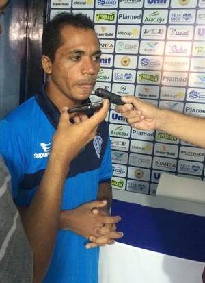 Bibi, entrevista, confiança (Foto: Guilherme Fraga / TV Sergipe)