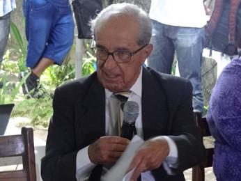 Ivan Rodrigues estava no Palácio do Campo das Princesas quando Arraes foi deposto (Foto: Katherine Coutinho/G1)