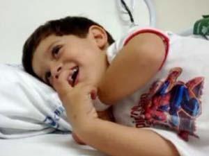 Joaquim começou tratamento para o diabetes em setembro deste ano (Foto: Divulgação/Arquivo Pessoal)