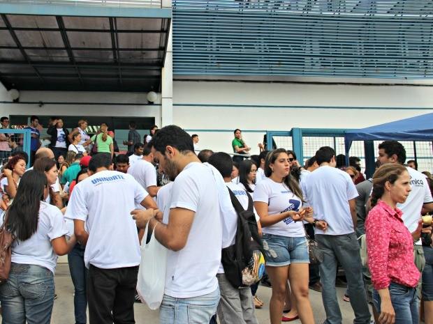 Provas servem para avaliar os cursos de nível superior (Foto: Suelen Gonçalves/G1 AM)