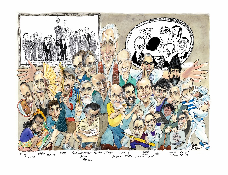 O desenho de Paulo Caruso