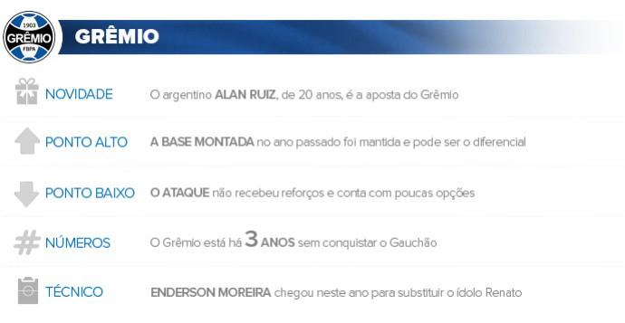 Apresentacao Gremio (Foto: Infoesporte)