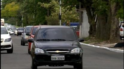 Avenida Bento Gonçalves agora com 3 pistas de cada lado