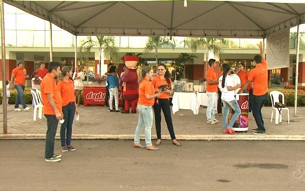 Rádio Acre FM 98.1 transmitirá os principais programas do shopping em Rio Branco (Foto: Acre TV)