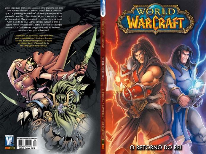 Saga de WoW em quadrinhos que foi publicada no Brasil (Foto: Divulgação)