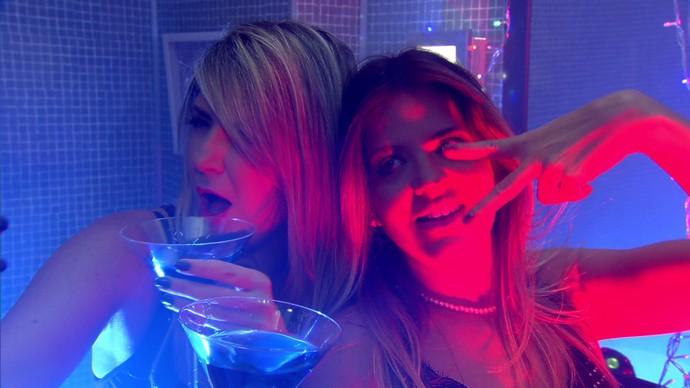 Dani Calabresa e Mariana Santos vivem amigas que causam nas redes (Foto: TV Globo)