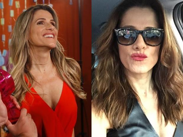 Antes e depois - Ingrid Guimarães (Foto: Marcos Serra Lima/ EGO | Reprodução/ Insta)