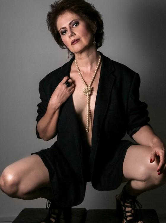 Narjara Turetta: atriz começou na carreira ainda adolescente, ao lado de Regina Duarte, no seriado Malu mulher (Foto: Vinicius Bertoli)