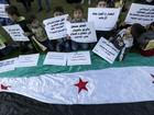 Sírios de cidade sitiada pelo regime passam fome
