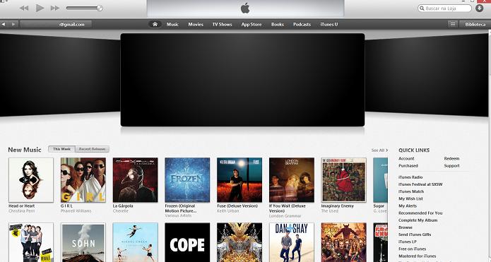 iTunes Store tem muito conteúdo (Foto: Reprodução/Thiago Barros)