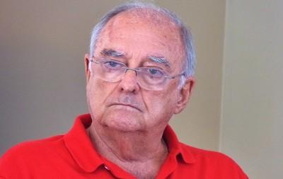Walter D'Agostino, candidato a vice-presidente geral  chapa azul do Flamengo (Foto: Vicente Seda / Globoesporte.com)