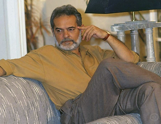 Gerson (Othon Bastos) (Foto: Acervo Globo)
