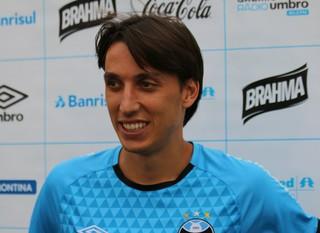 Pedro Geromel zagueiro do Grêmio  (Foto: Eduardo Moura/GloboEsporte.com)