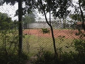 Buraco grade Instituto Penal de Viamão RS (Foto: Fábio Almeida/RBS TV)