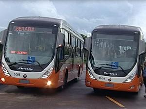 Ônibus Mobilidade Urbana (Foto: Reprodução / TV Integração)