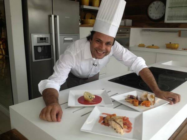 Chef Vilmar Turnes ensina a fazer entrada, prato principal e sobremesa para a ceia de Natal (Foto: Divulgação)