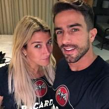 Gabriela Pugliesi com o namorado Erasmo Viana (Foto: Arquivo Pessoal)