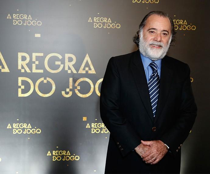 Tony Ramos será Zé Maria em A Regra do Jogo (Foto: Raphael Dias/TV Globo)