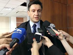 Yuri Dantas, advogado do governador José Melo (Foto: Indiara Bessa/G1 AM)