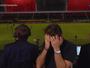Petkovic vê 2º tempo na cabine do SporTV e sofre e vibra com o Vitória