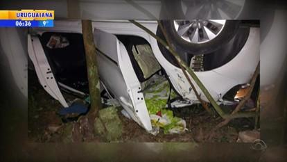 Mulher e filha morrem em acidente na BR-470 em Bento Gonçalves, RS