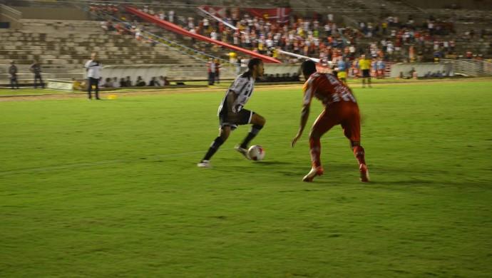 Auto Esporte x Botafogo-PB, pelo Campeonato Paraibano (Foto: Hévilla Wanderley / GloboEsporte.com/pb)