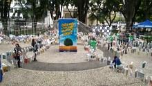 RBS TV de Criciúma recebe prêmio pelo 'Frutos do Conhecimento' (RBS TV/Divulgação)