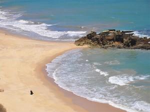 Praia de Coqueirinho, no Conde, na Paraíba (Foto: Kleide Teixeira/Secom-PB)