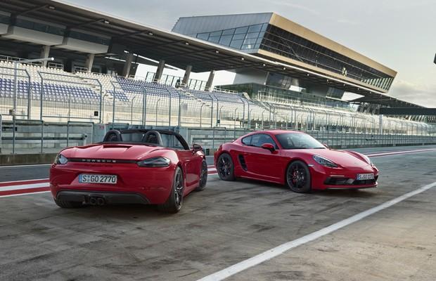 Porsche-revela-718-Cayman-GTS-e-718-Boxster-GTS (Foto: Divulgação)